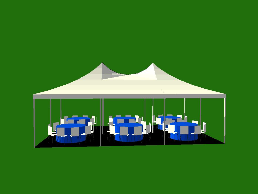 Tents 20 X30 White Pole Tent