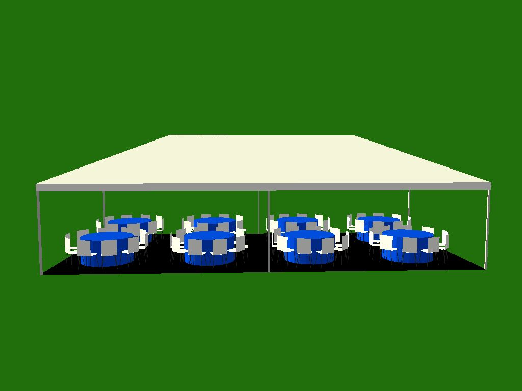 This is just one on many tent sizes. Milleru0027s can provide. We carry a complete line of. Pole Frame and Clearspan structures  sc 1 st  Milleru0027s Rentals & Tents : 20u0027x40u0027 White Frame Tent