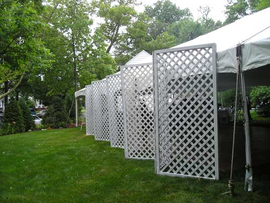 Room Dividers Garden Trellis 8 X 8 White Lattice