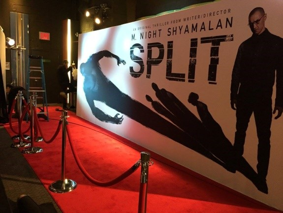 split movie premiere